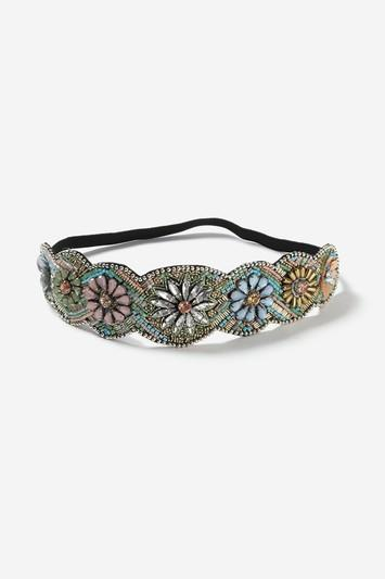 Topshop Floral Embellished Headband