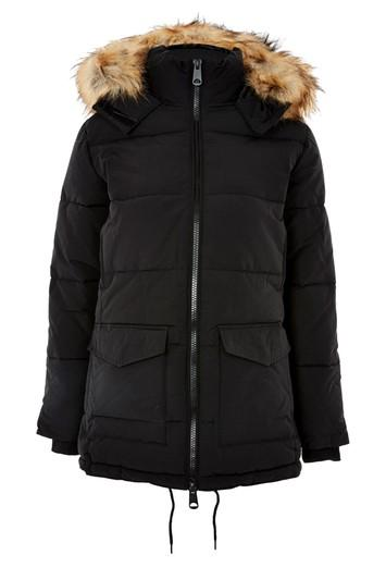 Topshop Petite Keaveny Puffer Jacket