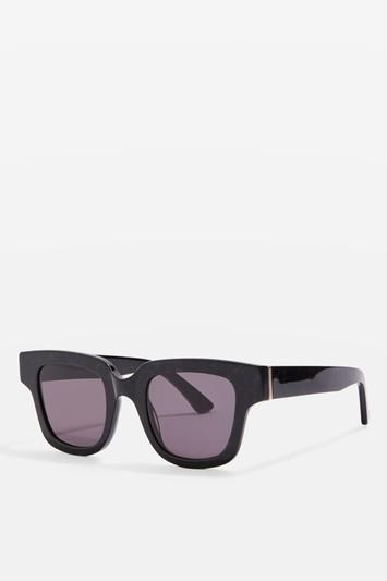 Topshop Premium Acetate Chunky Frame Sunglasses