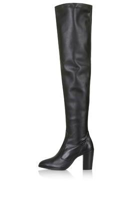 Topshop Commander Thigh High Boots