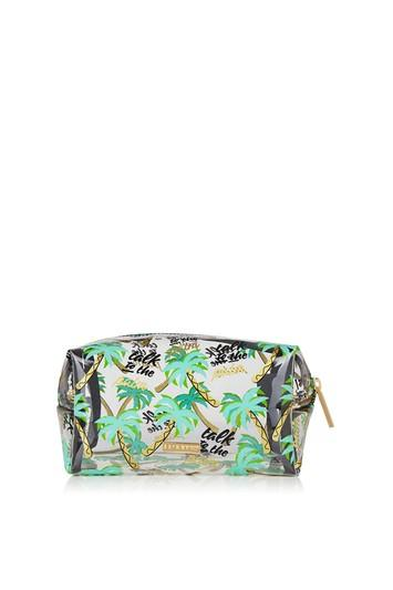 Topshop *talk To The Palm Make Up Bag By Skinnydip