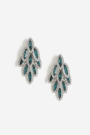 Topshop Rhinestone Crystal Earrings