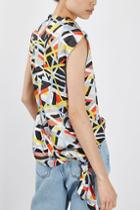 Topshop Metro Funnel Top By Boutique
