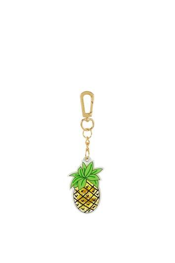 Topshop *pineapple Liquid Key Charm By Skinnydip