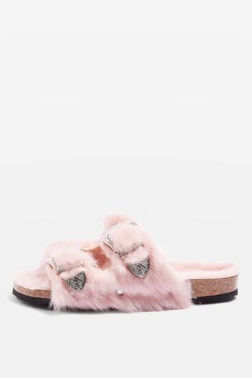 Topshop Falcon Furry Sandals