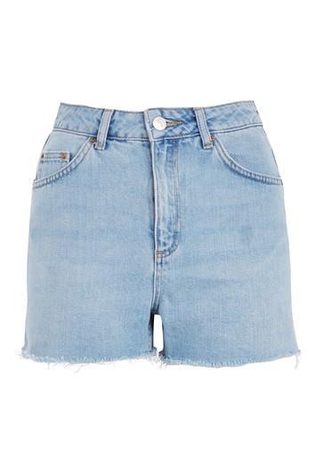 Topshop Moto High Waisted Mom Shorts