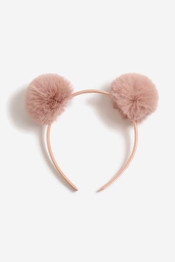 Topshop *fluffy Pom Headband