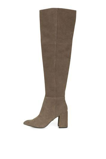 Topshop Bounty Pointed High Leg Boots