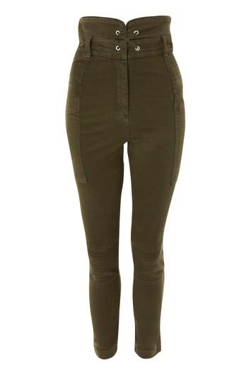 Topshop Lace-up Utility Trousers