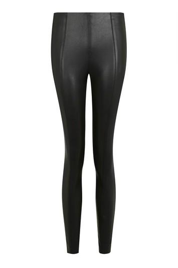 Topshop Tall Pu Trousers