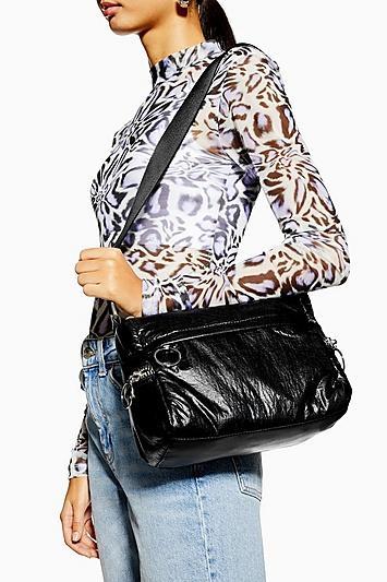 Topshop Match Nylon Shoulder Bag