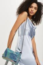 Topshop Chainmail Cross Body Bag
