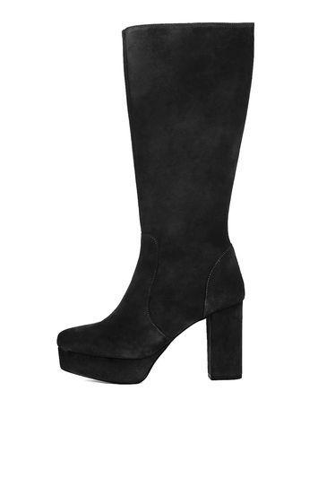 Topshop Bold Platform Hi Leg Boots