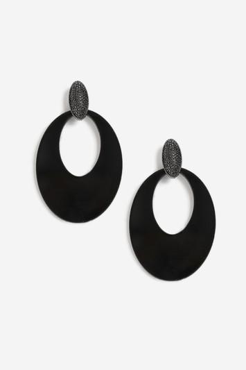 Topshop Resin Drop Earrings