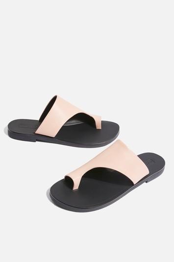 Topshop Toepost Flat Sandals