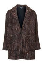 Topshop Oversized Wool Ovoid Jacket