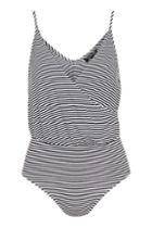 Topshop Woven Mix Striped Drape Cami Body