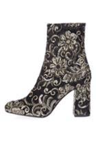 Topshop Merlot Sequin Boots