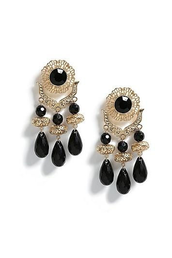 Topshop Bead Mobile Drop Earrings