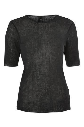 Topshop Crinkle T-shirt By Boutique