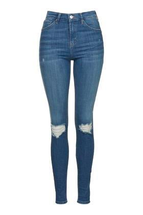 Topshop Moto Authentic Rip Jamie Jeans