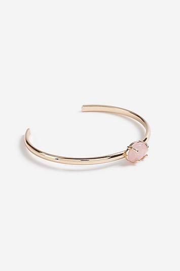 Topshop *rose Quartz Claw Cuff