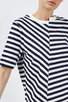 Topshop Reconstructed Tee By Boutique