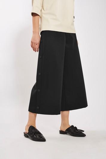 Topshop Popper Side Trouser By Boutique