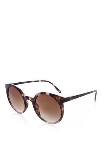 Topshop Miami Plastic Sunglasses