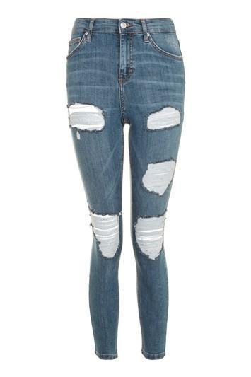 Topshop Moto Cheeky Rip Jamie Jeans