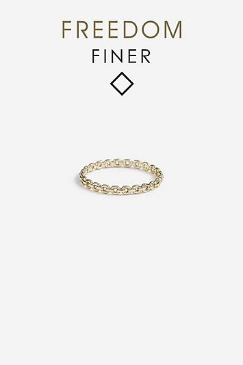 Topshop *freedom Finer Chain Ring