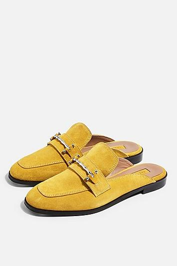 Topshop Kyra Backless Loafers