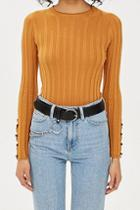 Topshop Circle Buckle Chain Belt