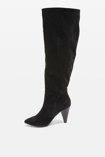 Topshop Box Knee High Boots