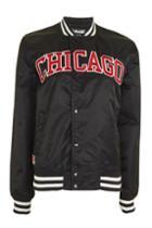 Topshop Chicago Stadium Jacket By Schott