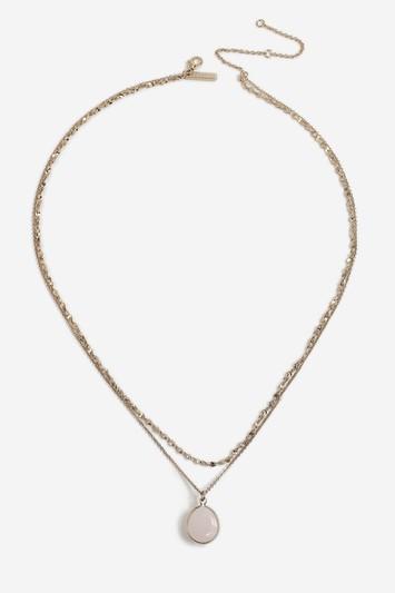 Topshop Semi Precious Multi Necklace