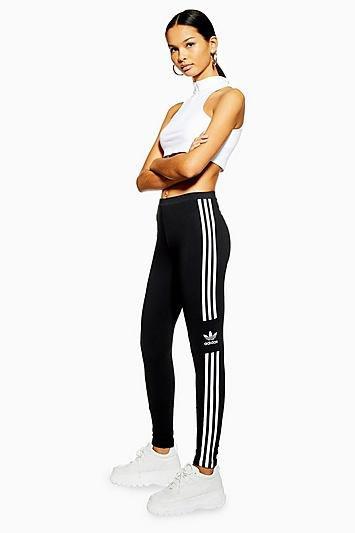 3 Stripe Trf Leggings By Adidas