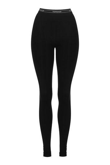 Topshop Tall Topshop Branded Leggings