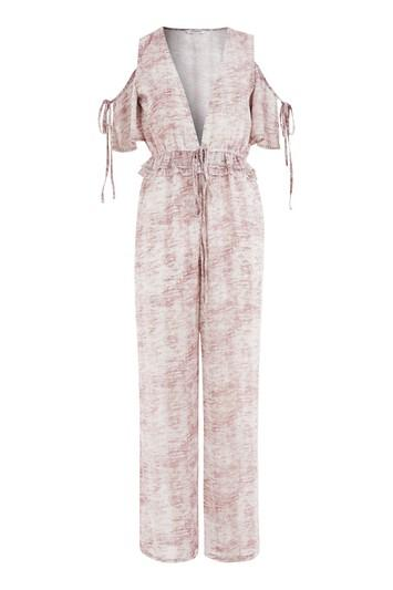 Topshop *deconstructed Jumpsuit By Glamorous