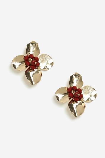 Topshop Flower Stud Earrings