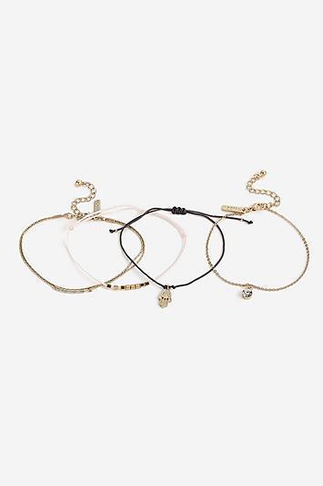 Topshop *charm Bracelet Multipack