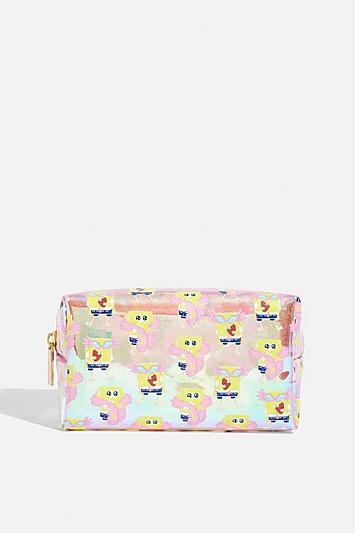 Skinny Dip *spongebob Makeup Bag By Skinnydip
