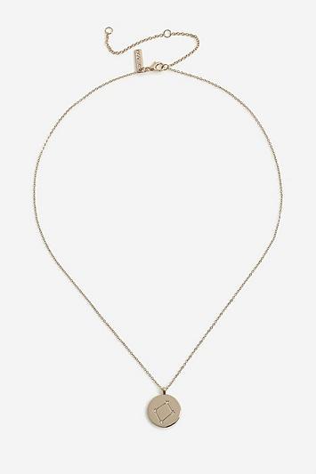 Topshop *libra Constellation Ditsy Necklace
