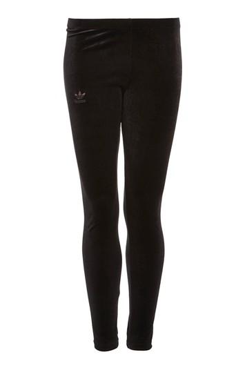 Topshop Velour Leggings By Adidas Originals