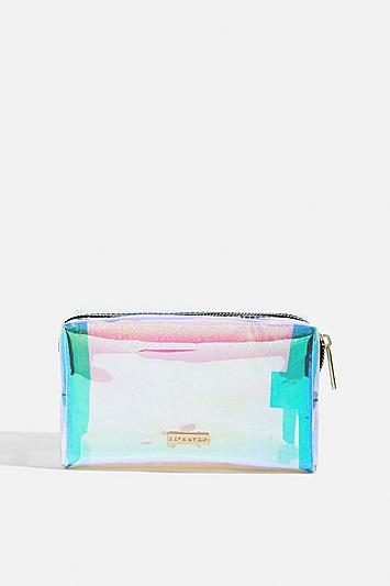 Skinny Dip *pink Glitter Dazzle Bag By Skinnydip