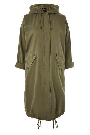 Topshop Lightweight Parka Coat
