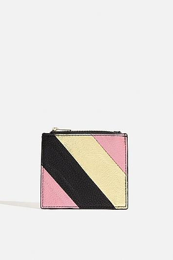 Skinny Dip *metallic Stripe Purse By Skinnydip