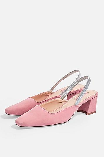 Topshop Jeweler Slingback Shoes
