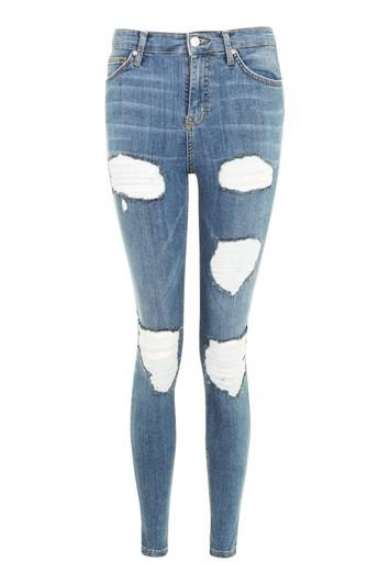 Topshop Moto Cheeky Ripped Jamie Jeans