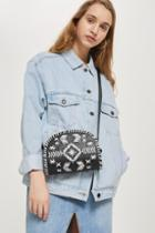 Topshop Leather Rodeo Saddle Bag